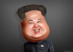 Kim Jong-un - Caricature
