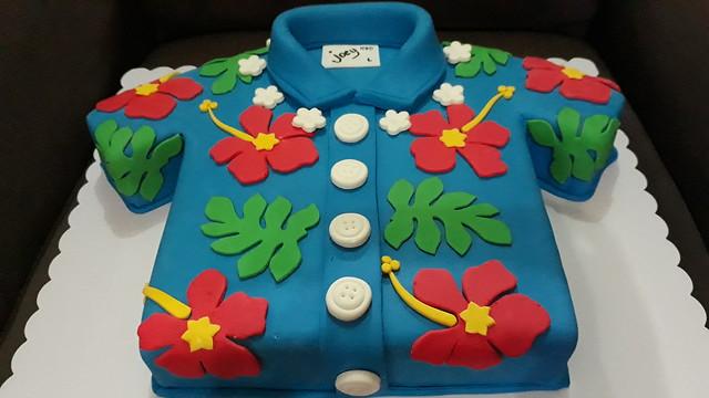 Hawaiian Polo Cake by Jasia Cakes