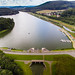 Luftbild des Schiedersees by wuestenigel