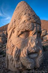Statue Of Zeus, Tomb of King Antioch I of Commagene, Mount Nemrut, Turkey