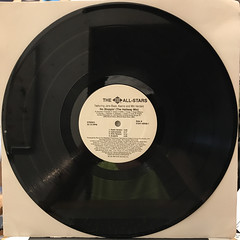 THE JIVE ALL STARS:NO STOPPIN'(RECORD SIDE-A)