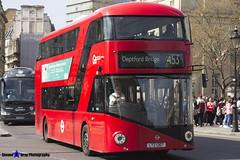 Wrightbus NRM NBFL - LTZ 1307 - LT307 - Deptford Bridge 453 - Go Ahead London - London 2017 - Steven Gray - IMG_5952