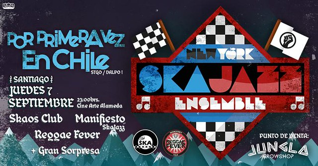 New York Ska-Jazz Ensamble llega a Chile y tocará junto a bandas locales
