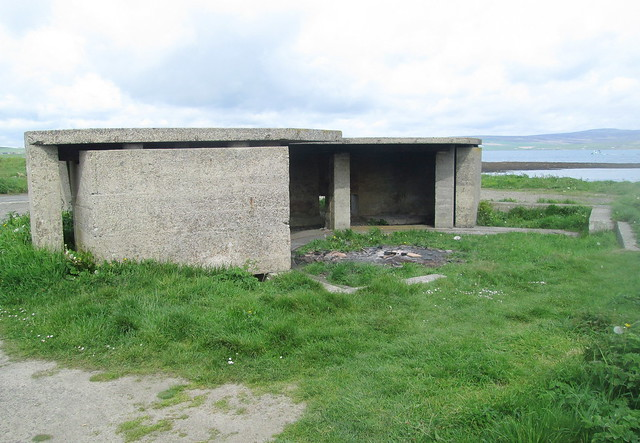 Closer View, Gun Emplacement, Links Battery, Stromness