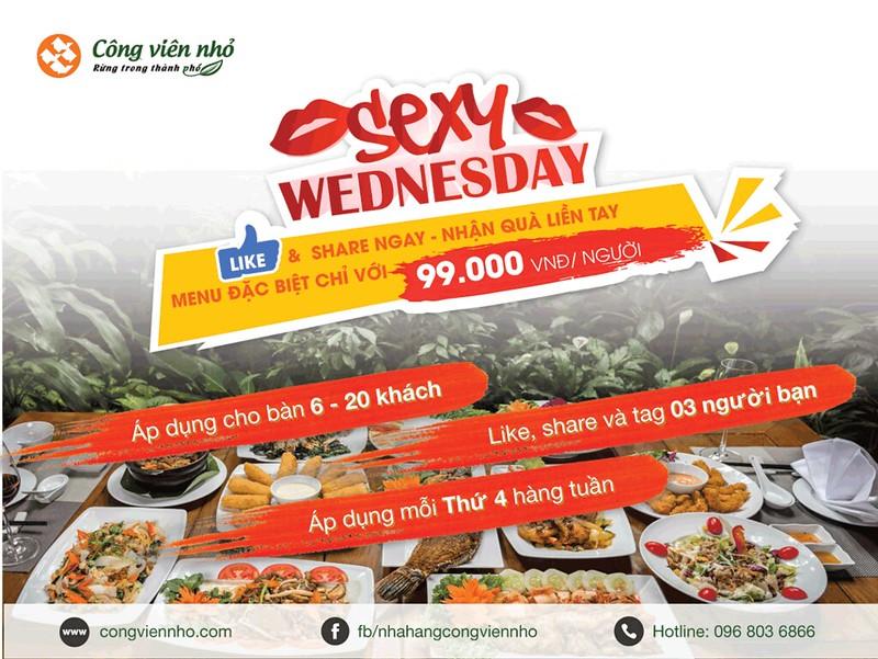 Sexy Wednesday – Bữa tiệc ẩm thực quyến rũ không thể chối từ