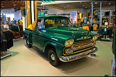 Green and Gold Apache