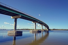 The controversial Hindmarsh Island Bridge
