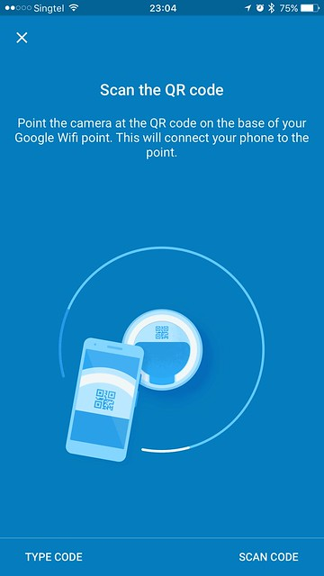 Google Wifi - iOS App - Setup #3