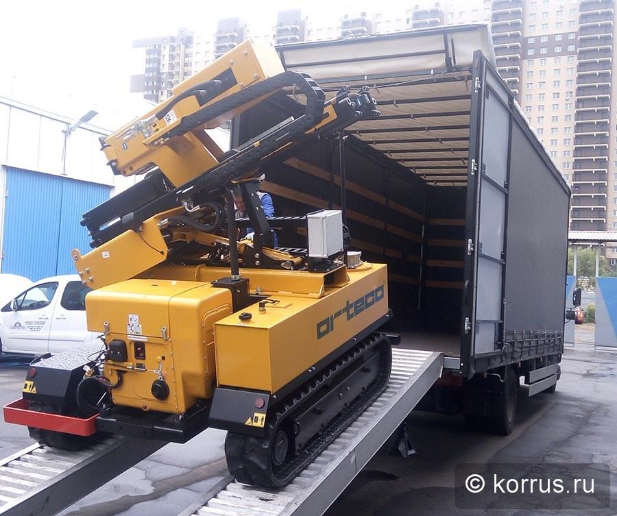 отгружена сваебойная самоходная машина ORTECO BTP HEAVY DUTY Покупателю из Оренбургской области