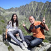 Samantha and Ben on top of rugged Mount Solisko by B℮n