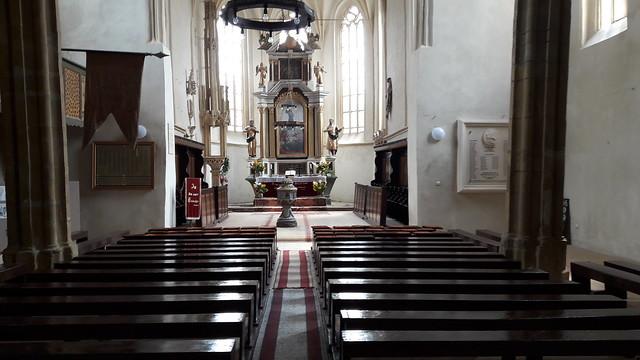 Mosna Fortified Church