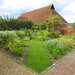 The walled garden and wheat barn, Cressing Temple Barns, Essex
