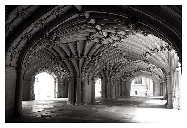 The Undercroft of Lincoln's Inn Chapel