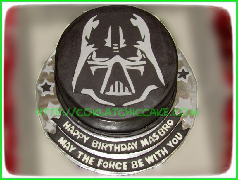 cake dart vader
