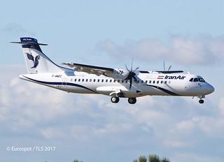 F-WWEC ATR72 IRAN AIR