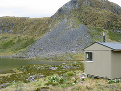 Hut in the Murchison Mts