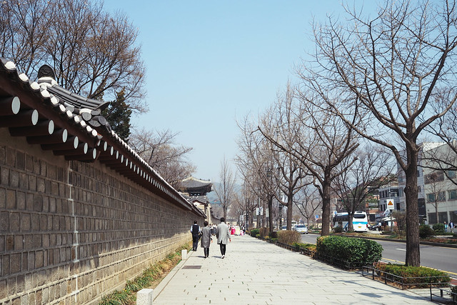 Invading Gyeongbokgung Palace