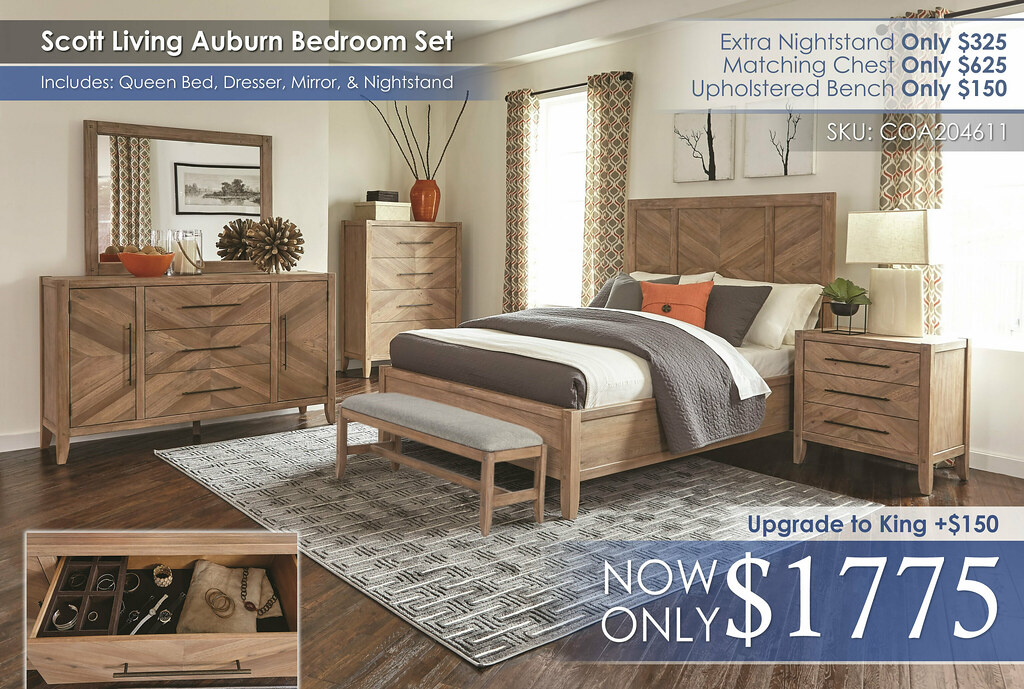 Scott Living Auburn Bedroom Set