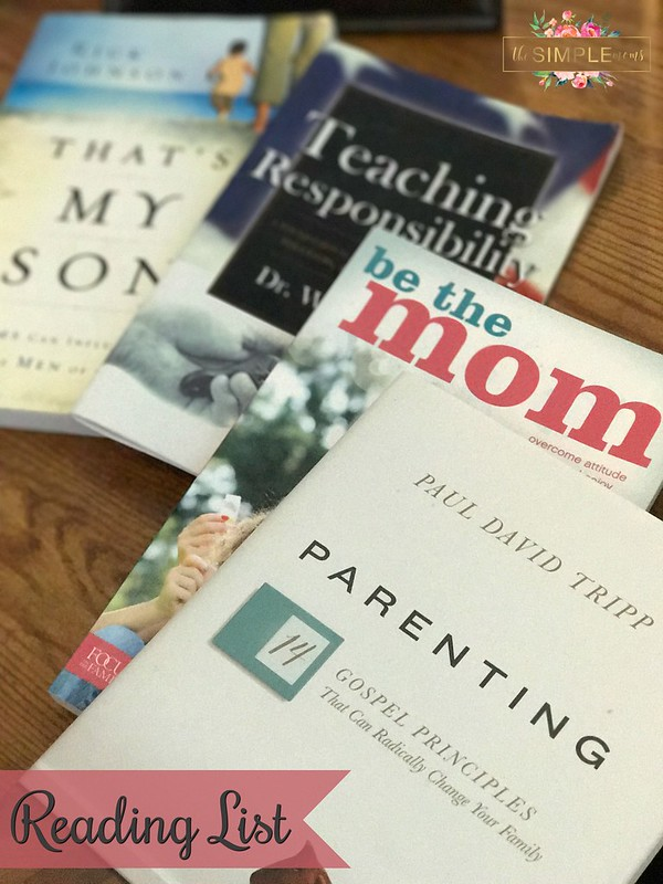 parenting reading list