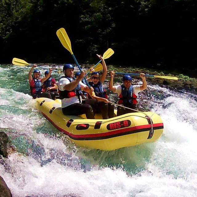Rafting tour rapids levels
