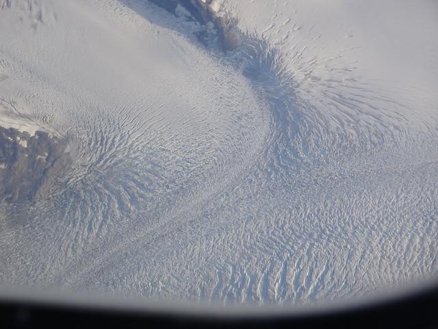 Over a Glacier