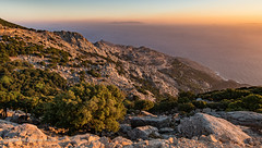 Ikaria - Road down to Amalou (1)