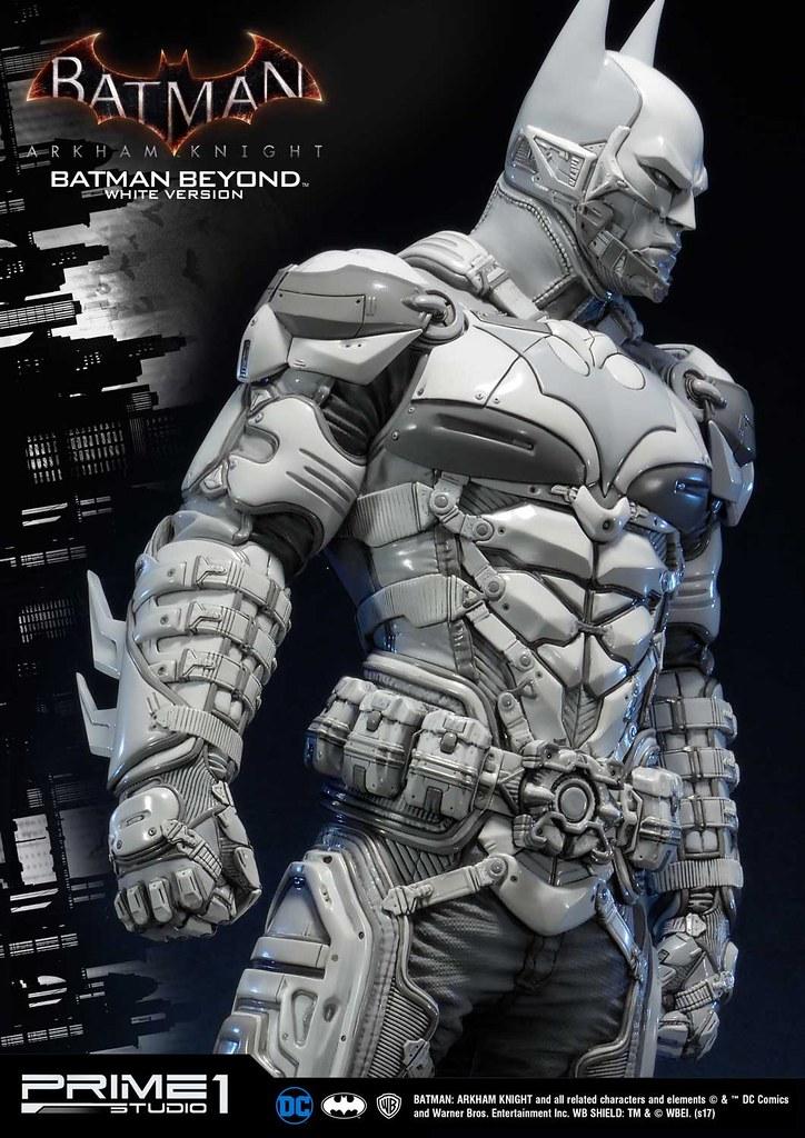 Prime 1 Studio - MMDC-10WT:《蝙蝠俠:阿卡漢騎士》未來蝙蝠俠雕像白色版 Batman: Arkham Knight Batman Beyond White Version