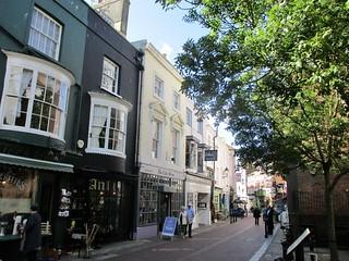 Hastings Old Town street
