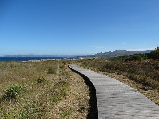 Pasarela en la Ruta do Monte Tahume