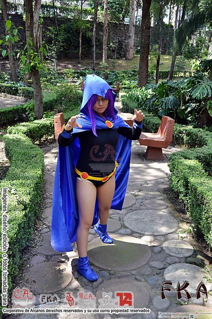 DC Super Girls vs Teen Titans-Raven (TTG)