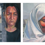 Wes Magyar; Grieving Mothers; Oil on canvas; 2007; Represented by William Havu Gallery -