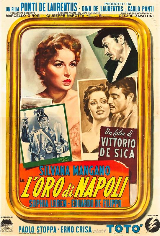 L'Oro di Napoli - Poster 1