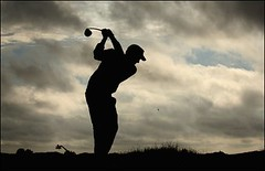 Golf-Silhouette