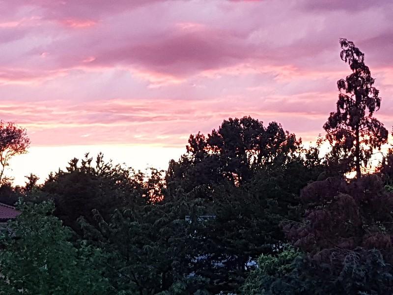 Sonnenuntergang bestaunen