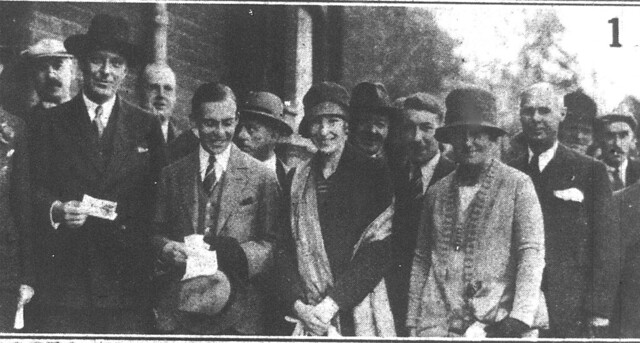 Romsey Labour Club, Cambridge opens - 10 Oct 1928