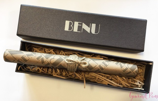 Review Benu Pen Supreme Collection Nebula Fountain Pen 1