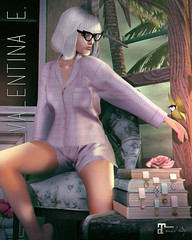 NEW! Valentina E. Doris Pajama Set @ BLUSH!