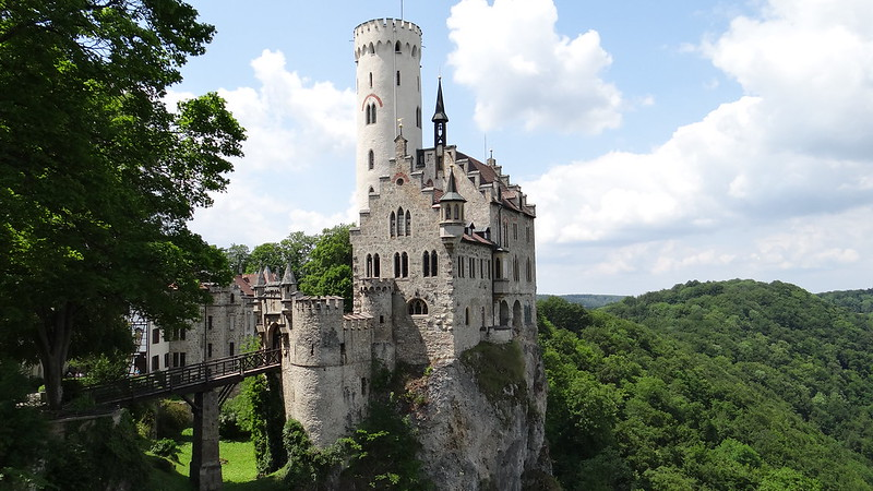 Lichtenstein Schloss, Germany