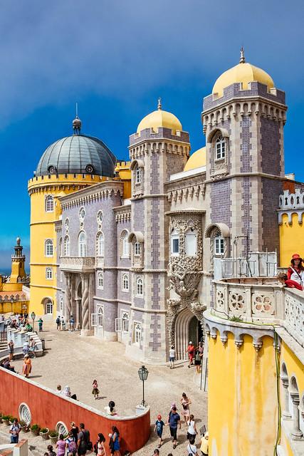 Pena Palace - Main entrance