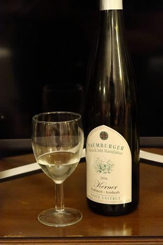 Feinherber Kerner Kabinett (Weißwein von der Naumburger Wein & Sekt Manufaktur, Saale-Unstrut, Jahrgang 2016)