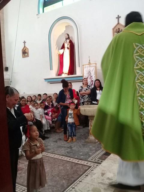 Inauguración de catecismo de la Parr. De Santiago Apóstol Malinaltenango