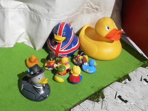 Press ducks