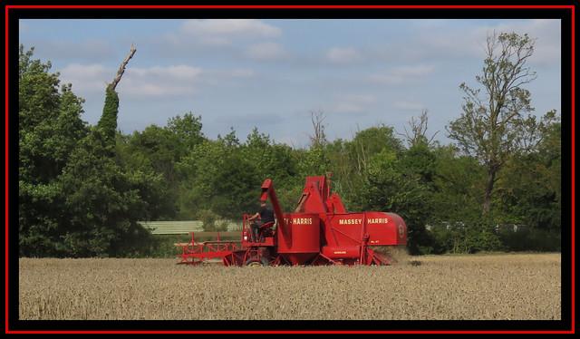 Massey Harris Combined Harvester
