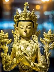 Bodhisattva Avalokiteshvara (Quan Yin or Kuan Yin) Statue in Shanghai Pudong International Airport, China