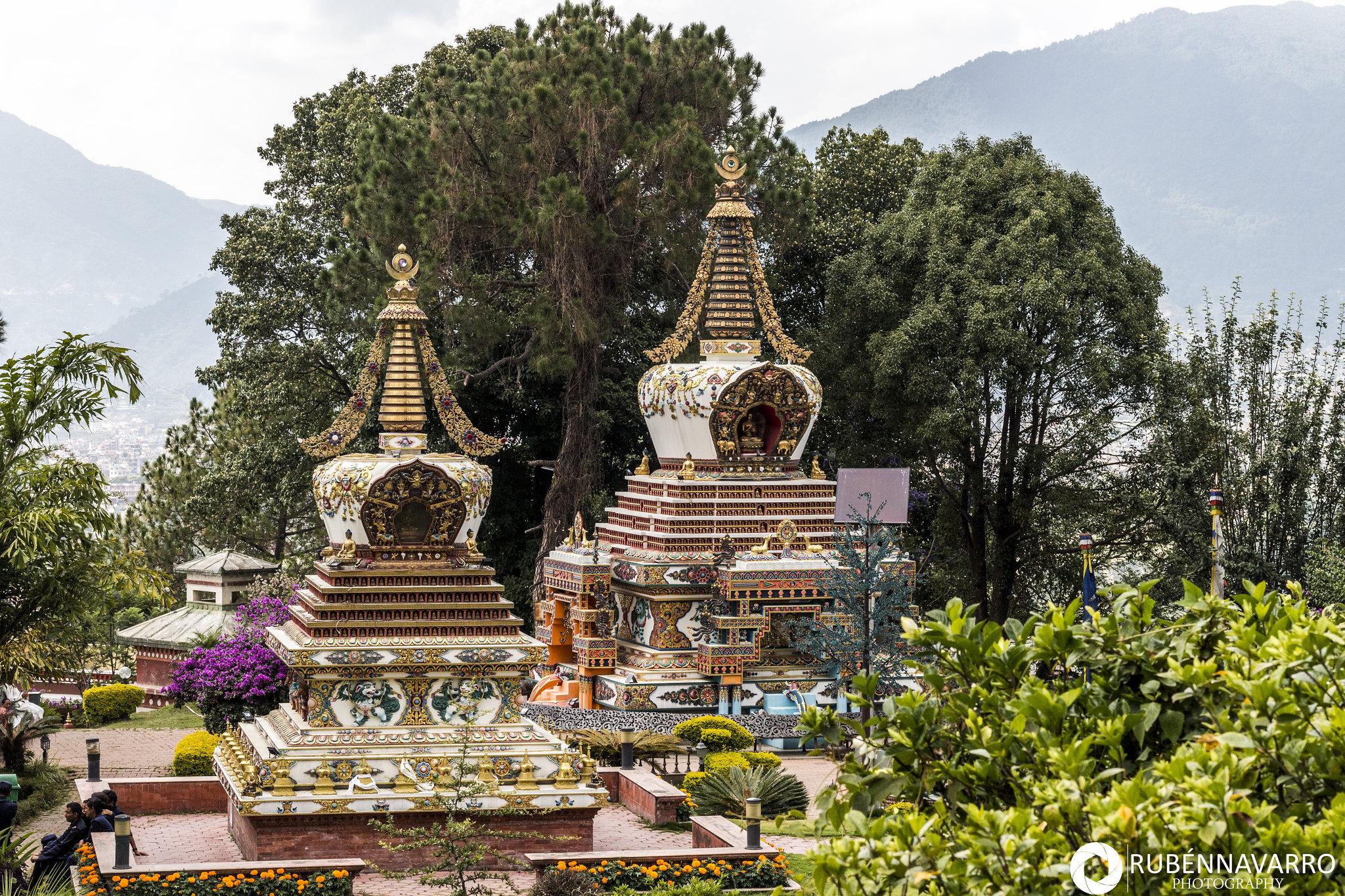 Visitar Katmandú - Monasterio Kopan