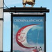 The Crown and Anchor pub sign Dell Quay West Sussex UK