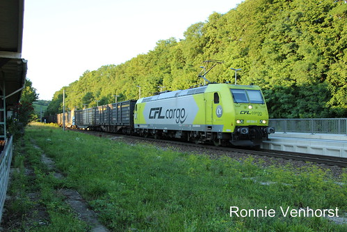 E-loc 185 534(Bad Sulza 6-8-2017)