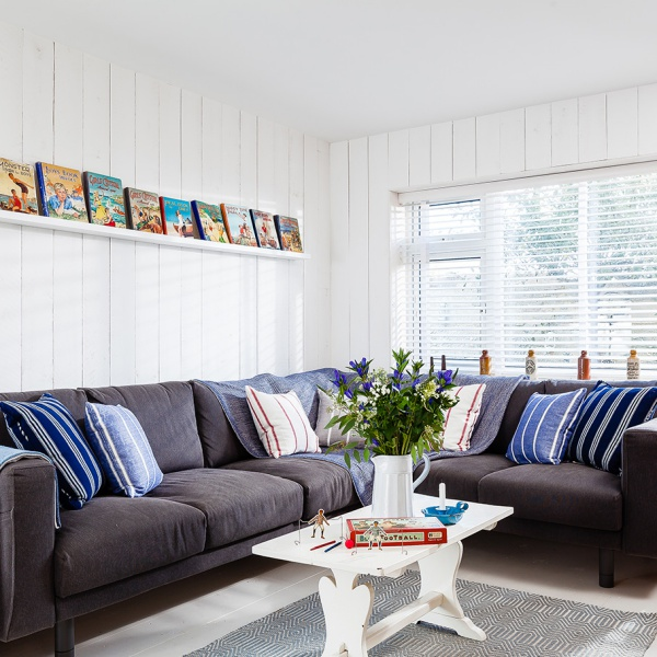 Scandinavian Inspired Seaside Home