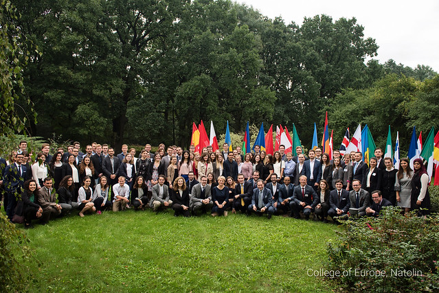 Start of the Academic Year 2017-2018 at the Natolin campus.11 September 2017