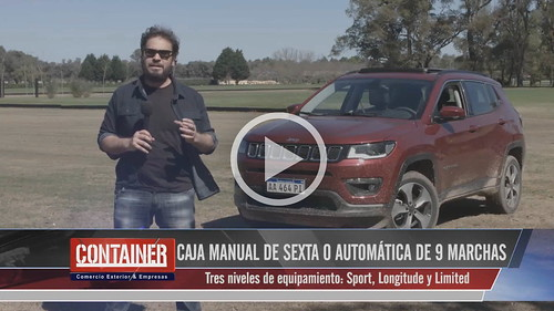 Jeep Compass en Container TV